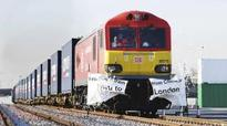 First China-London freight train arrives