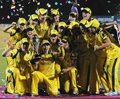Women's WC: Australia crush Windies to clinch 6th title