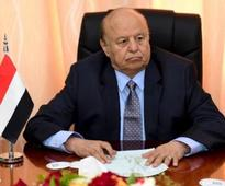 Yemen president Mansour Hadi orders his forces to cease fire in Aden