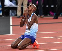 IAAF World Athletics Championships 2017: Mo Farah wins silver in last race of his career