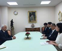 Ambassador of Tajikistan meets Vice-President of Soka Gakkai International