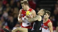 Franklin stars as Swans destroy Saints with blistering third term