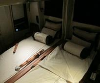 Singapore Airlines unveils bedroom in the sky in Airbus A380