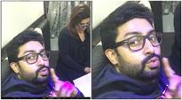 Abhishek Bachchan and Farah Khan as co-hosts find it more difficult than doing a film together, watch video