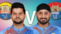 Gujarat Lions v Mumbai Indians