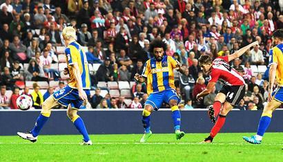 League Cup: Sunderland win; Burnley, Middlesbrough sent packing