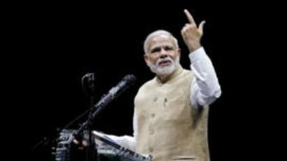 Embattled at home, Modi seeks endorsement in San Jose