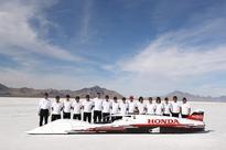 Honda S-Dream Streamliner hits 261.875mph at Bonneville to set FIA land speed record