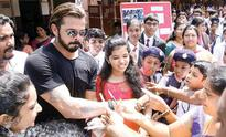 Sreesanth plays cricket with young fans