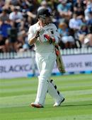 McCullum falls for a duck in his 100th Test, NZ 183