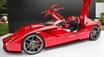 Kode 57 Supercar Revealed at The Quail by Ferrari Enzo Designer