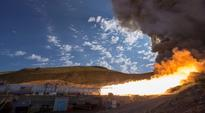 NASA completes final test of SLS boosters before first launch