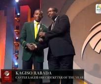 Rabada wins big at Cricket South Africa awards