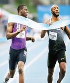 Olympic champion James serves up Rio notice with record-breaking run