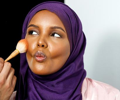 Halima Aden, the model who's making hijabs fashionable