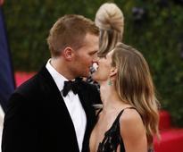 After Tom Brady, wife Gisele Bundchen goes nearly nude in a thong bikini
