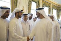 AD CP receives members of Zayed Charity Marathon's organising committee