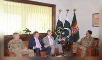 US Senator,Olson discusses Afghan,regional,biletral issues with Gen Raheel