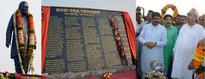 Odisha CM, Petroleum Minister Dharmendra Pradhan unveils statue of JB Patnaik