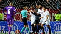 Sevilla late show ends Madrid's 40-game unbeaten run