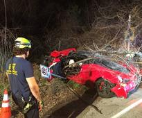 Police ID man charged with DWI after driving $385,000 Ferrari off Westlake...