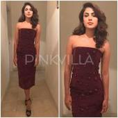 Yay or Nay : Rhea Chakraborty in Caroline Hayden