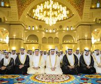 UAE Rulers and leaders offer prayers to mark Eid Al Fitr - in pictures