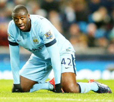 'Yaya Toure will stay and fight for Man City place.'