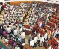Padmavathi elected city's 50th mayor amid high drama