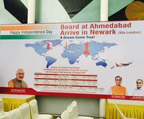 First Ahmedabad  London direct flight of Air India takes off
