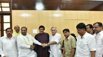 Rajya Sabha poll: Jairam Ramesh, Oscar Fernandes file nomination papers
