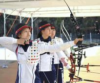 Kawanaka aiming for archery team medal