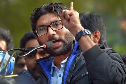 Mevani urges Rohith Vemula's mother to contest 2019 polls
