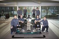 MERCEDES AMG PETRONAS Formula One Team relies on Spies Hecker to work to smooth