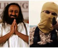 Sri Sri offers peace talks, ISIS replies with photo of beheaded man
