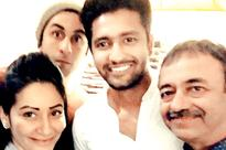 Does this photo confirm Vicky Kaushal's presence in Sanjay Dutt biopic?