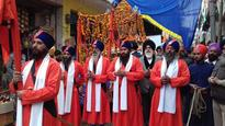 Nagar Kirtan taken out on 351st Prakash Purab of Guru Gobind Singh