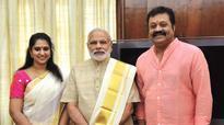 Actor Gopi takes oath as Rajya Sabha member