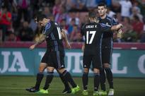 La Liga: Real Madrid reserves thrash Granada, Barcelona's 'MSN' cross 100