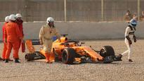 Formula 1: Fernando Alonso off to shaky start with new McLaren at Barcelona testing