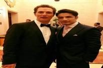 Matthew David McConaughey dances to Ali Zafar's songs !