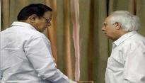 Congress nominates Kapil Sibal, P Chidambaram for Rajya Sabha elections