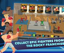 40 years after Rocky debuted in the cinema, the fighting franchise is getting an iOS game