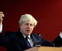 Britain's Foriegn Secretary Boris Johnson claims India owes UK multi