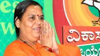 Uma Bharati admitted to AIIMS with 'severe knee pain'