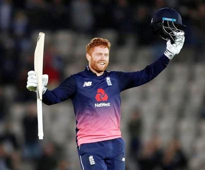 Bairstow hits century as England trounce Windies 4-0