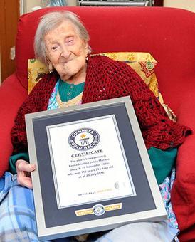 World's oldest person dies aged 117