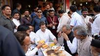 Rahul Gandhi's 'chai pe charcha' in Surat? Congress VP stops for a quick tea break, shares 'bread-pakoras'