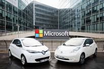 Renault-Nissan Announces New Partnership With Microsoft