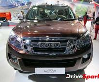 The D-Max V-Cross By Isuzu Could Cost Rs. 12.49 Lakh In India